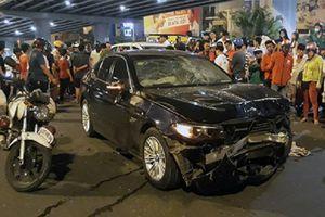 Nữ doanh nhân lái BMW tông loạt xe ở Sài Gòn có thể đối diện mức án 15 năm tù