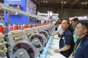 Chuỗi triển lãm quốc tế về máy móc, thiết bị, nguyên phụ liệu dệt may - VTG 2018