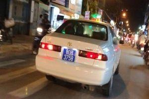 Thông tin bất ngờ về xe biển xanh 80B gây náo loạn đường phố Sài Gòn