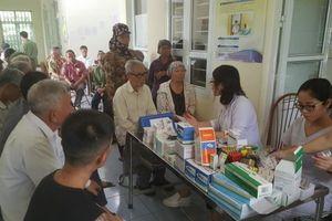 Hội Chữ thập đỏ huyện Khoái Châu khám bệnh miễn phí cho hơn 600 người