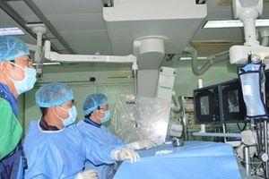 Can thiệp mạch máu não thành công cho 3 bệnh nhân