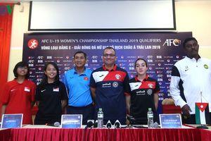 HLV Mai Đức Chung: 'U19 nữ Việt Nam đã sẵn sàng cho vòng loại châu Á'