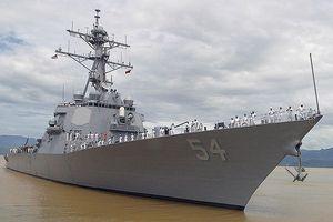 Trung Quốc quan ngại sâu sắc khi tàu chiến Mỹ đi qua eo biển Đài Loan