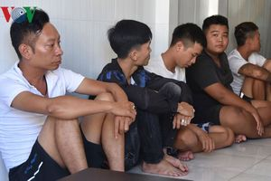Tiền Giang: Bắt giữ 5 đối tượng sử dụng ma túy, cho vay nặng lãi
