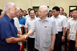 Cử tri đặt niềm tin tuyệt đối vào Tổng Bí thư- Chủ tịch nước Nguyễn Phú Trọng