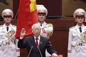 TBT Nguyễn Phú Trọng đắc cử Chủ tịch nước