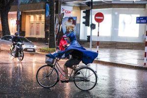 Gió mùa Đông Bắc và mưa dông diện rộng ở Bắc Bộ