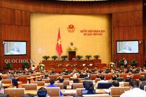 Quốc hội thông qua danh sách 48 chức danh được lấy phiếu tín nhiệm