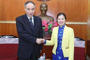 Thúc đẩy quan hệ hữu nghị giữa MTTQ Việt Nam và Chính hiệp Trung Quốc