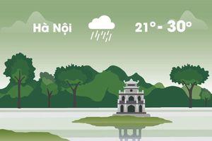 Thời tiết ngày 24/10: Hà Nội mưa rào, Sài Gòn nắng gián đoạn