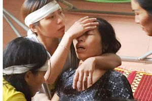 Thắt lòng tiếng khóc trẻ 8 tháng tuổi khi mẹ tử nạn