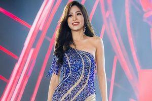 Á hậu Phương Nga chọn đầm dạ hội bó sát ở chung kết Miss Grand