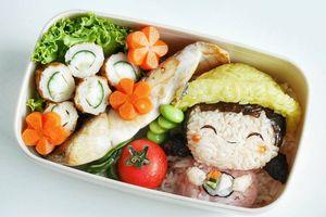 Hộp cơm bento đẹp không nỡ ăn ở Nhật Bản