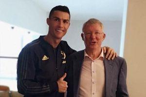 Ronaldo đăng thông điệp cảm động trong ngày tái ngộ Sir Alex