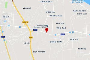Hà Nội: Duyệt chỉ giới đường đỏ tuyến đường tỉnh 427 thuộc huyện Thường Tín