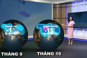 Ứng dụng công nghệ 3D trong bản tin dự báo thời tiết trên truyền hình