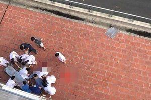 Bệnh nhân nhảy từ tầng 6 xuống đất ở Bệnh viện Đa khoa Đức Giang