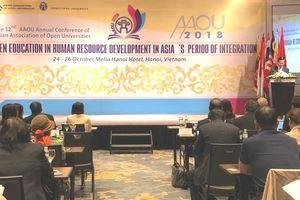 Hội nghị các trường ĐH Mở châu Á khai mạc tại Hà Nội