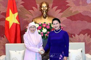 Chủ tịch Quốc hội Nguyễn Thị Kim Ngân tiếp Phó Thủ tướng Malaysia