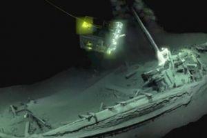 Phát hiện tàu cổ nhất thế giới còn nguyên vẹn dưới Biển Đen