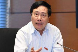 Ông Phạm Bình Minh nói điều lo ngại nhất quanh sự kiện Mỹ - Trung