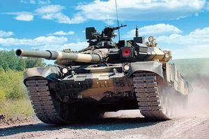 Cận cảnh xe tăng T-90 Việt Nam ở nhà máy Nga