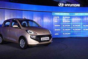 Ra mắt Hyundai Santro 2019 'chốt giá' từ 124 triệu