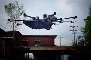 Chàng kỹ sư trẻ chế tạo thành công xe bay lai drone