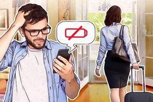 Khi đời sống con người phụ thuộc vào mức pin của chiếc smartphone