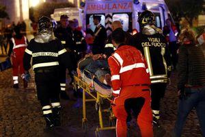 Champions League: Hàng chục CĐV Nga gặp tai họa ở Rome