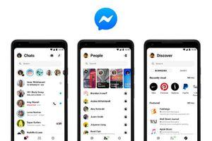 Facebook trình làng phiên bản Messenger 4 với nhiều cải tiến