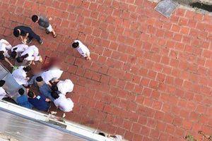 Lao từ cửa sổ tầng 6 bệnh viện xuống đất, nam bệnh nhân tử vong tại chỗ