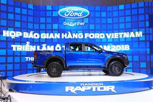 Ford Ranger Raptor ra mắt tại Việt Nam với giá bán gần 1,2 tỷ đồng