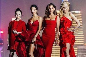 Cindy Crawford, Nicole Kidman, Alessandra Ambrosio đầm đỏ tuyệt sắc