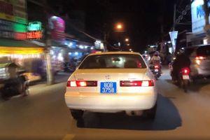 Bước đầu xác định danh tính tài xế xe biển xanh gây náo loạn Sài Gòn