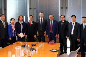 Phó Chánh án TANDTC Lê Hồng Quang thăm và làm việc tại Ý