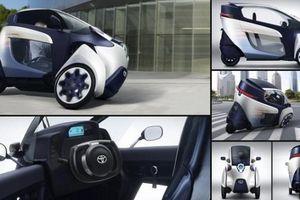 Choáng với mẫu ô tô điện 3 bánh lạ độc của Toyota tại Việt Nam
