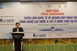 Ngành nước Việt Nam đang phải đối mặt với nhiều thách thức lớn