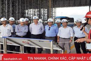Đoàn công tác tỉnh Quảng Bình tham quan Khu Kinh tế Vũng Áng