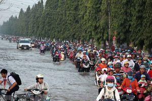 Ngập lụt ở ĐBSCL: Nguyên nhân từ đỉnh triều 'lịch sử' 40 năm qua