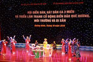 Rộn ràng câu hát dân ca bên bờ di sản Vịnh Hạ Long