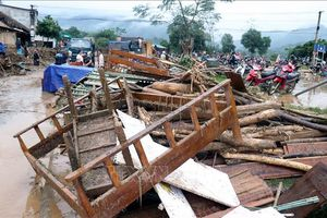 Mưa lớn làm 2 người chết và mất tích tại Lào Cai và Hà Giang