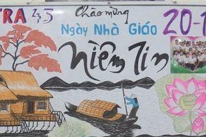 10 bài thơ báo tường hay và ý nghĩa nhất ngày Nhà giáo Việt Nam 20/11 luôn 'gây sốt'