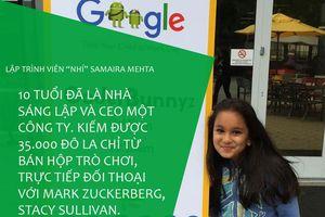 Lập trình viên nhí tài năng mới 10 tuổi đã được cả Google và Microsoft quan tâm