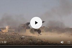 Clip: Quân đội Syria oanh kích 'hất cẳng' tàn dư IS tại Tulul al-Safa