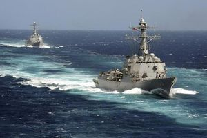 Mỹ đưa tàu chiến vào eo biển Đài Loan, liên tục thách thức Trung Quốc trong vấn đề nhạy cảm nhất