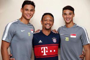 3 bố con cùng dự AFF Cup 2018
