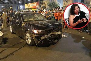 Bắt tạm giam nữ tài xế điều khiển xe BMW gây tai nạn kinh hoàng ở ngã tư Hàng Xanh