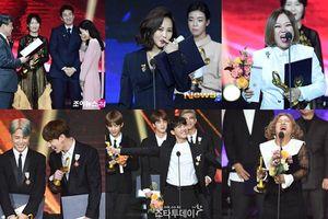 Phản ứng đáng yêu khi nhận giải của Son Ye Jin và BTS gây 'sốt' tại 'Korean Popular Culture & Arts Awards'