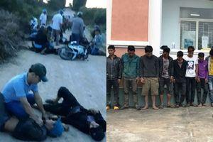 Hỗn chiến sau lễ ăn hỏi, nhóm thanh niên mai phục phóng dao ném đá khiến 1 người tử vong